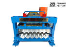 50HZ Roof Tile Making Machine , Trapezoidal Sheet Roll Forming Machine