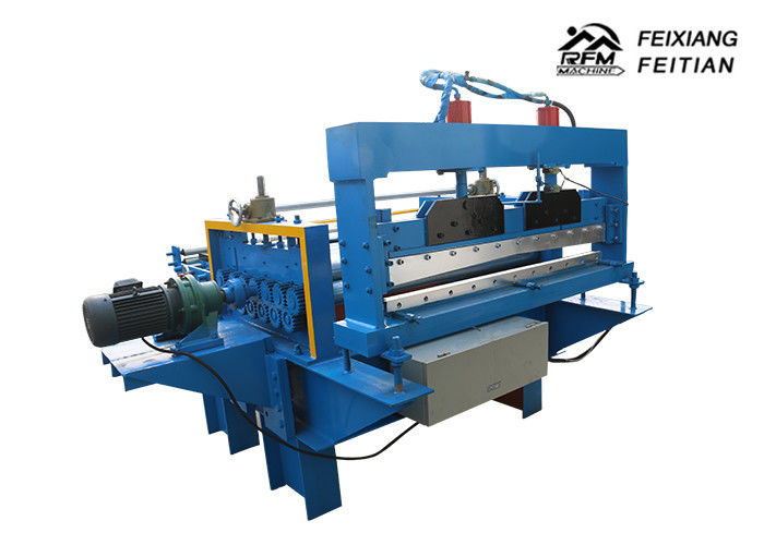 Fully Automatic Leveling / Cut To Length Machine , Steel Slitting Machine For Auto Parts