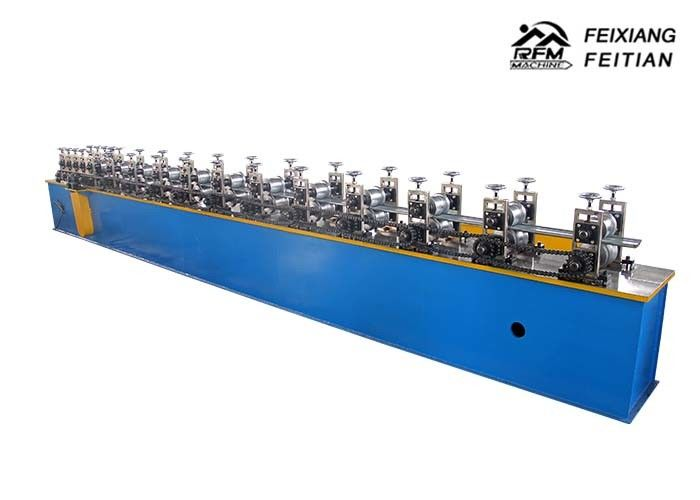 Fireproof PU Sandwich Panel Production Line , Shutter Door Roll Forming Machine