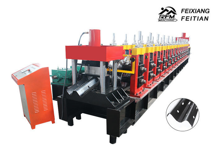 Two / Three Waves Highway Guardrail Making Machine FX 350 For Highway Road