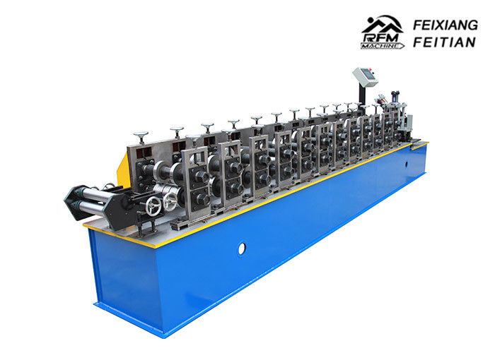 Metal C Channel Roll Forming Machine Drywall Steel Material 10~12MPa Hydraulic Pressure