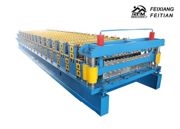 Galvanized Double Layers Roofing Sheet Roll Forming Machine Tile Making Machine